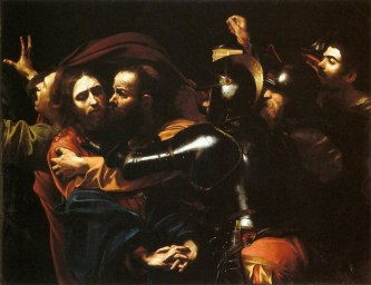 caravaggio the taking of Christ2